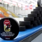 NEPEAN, CANADA - APRIL 3: Official tournament pucks during preliminary round action at the 2013 IIHF Ice Hockey Women's World Championship. (Photo by Jana Chytilova/HHOF-IIHF Images)