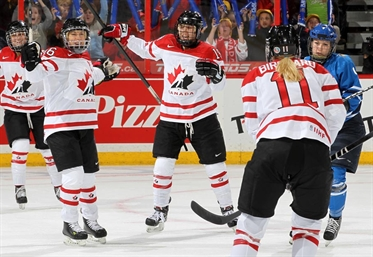 Canada finishes first