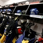 NEPEAN, CANADA - APRIL 6: Team Sweden's dressing room before facing off against Team Czech Republic during relegation round action at the 2013 IIHF Ice Hockey Women's World Championship. (Photo by Jana Chytilova/HHOF-IIHF Images)